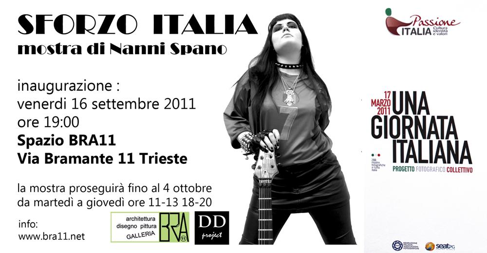 SFORZO ITALIA – 16 ritratti al femminile Mostra di Nanni Spano