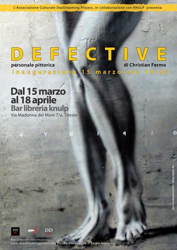 DEFECTIVE | personale pittorica di Christian Fermo