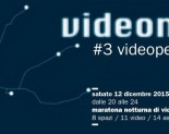 VIDEONOTTE #3 videoperformance