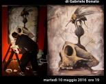 CRONOS mostra di Gabriele Bonato.  Finissage